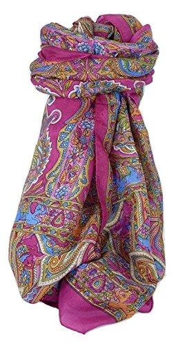 Classic Gamme Paisley Foulard Longue 100% Soie de Mûrier Motif Dara Carnation de Pashmina & Silk