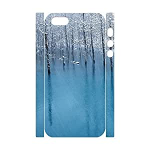 3D Frozen Case For iPhone 5,5S White