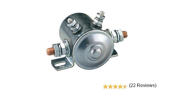 amazon com continuous duty solenoid 80amp 12v automotive