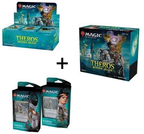 MTG Magic the Gathering Theros Beyond Death Booster Box + Bundle + Both Planeswalker Decks!