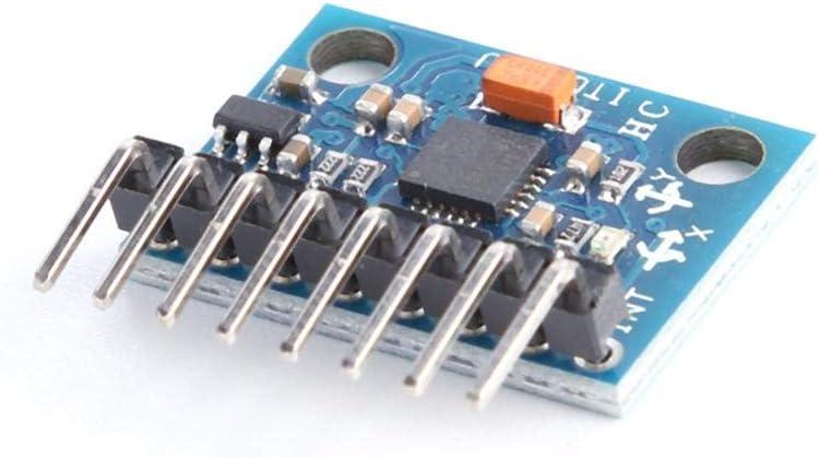 GY-521 MPU-6050 Module /à 3 Axes capteurs gyroscopiques 6DOF acc/él/érom/ètre analogique Asiproper