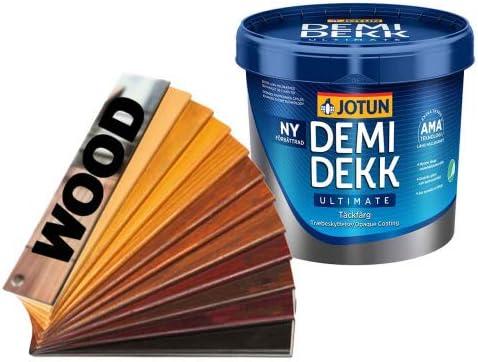 Jotun Demidekk Ultimate - Pintura para madera (1 L, color ...