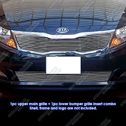 Amazon Com Aps Fits 2011 2013 Kia Optima Lx Ex Billet Grille Grill