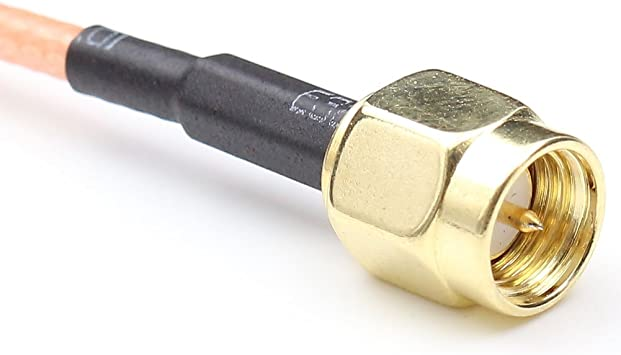12 inch RG316 BNC Male Plug to BNC Male Plug RF Pigtail Jumper Cable 30cm USA