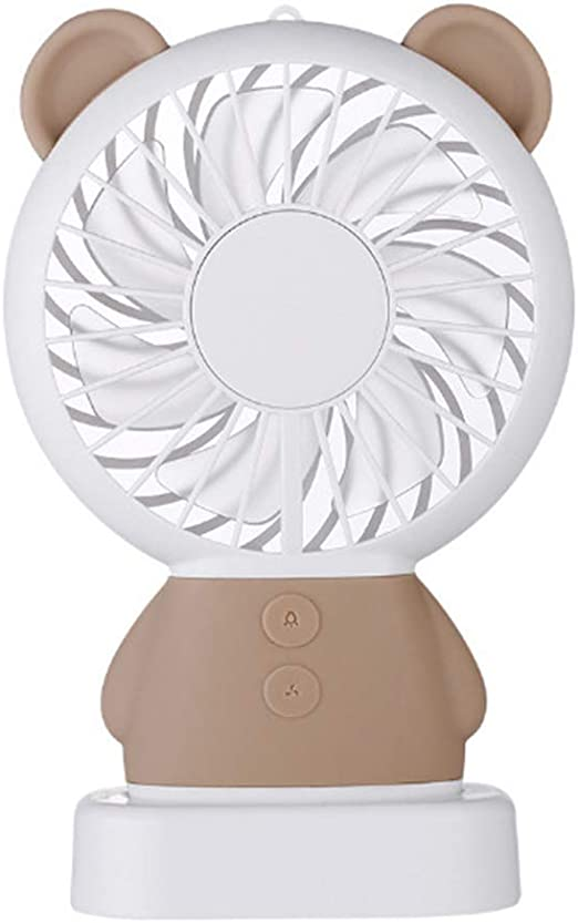 Gilroy Handheld Fan Portable 3 Speed Table Mini Rechargeable USB Cooling Fan for Office Home Travel