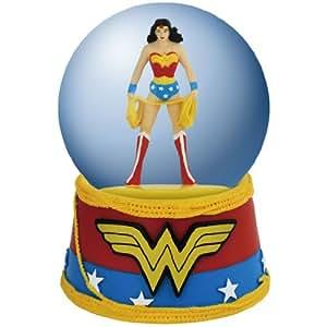 Westland Giftware Water Globe Figurine, 100mm, DC Comics Wonder Woman