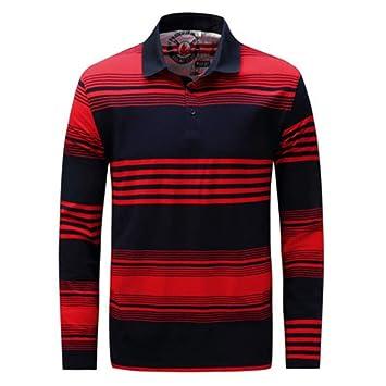 NISHIPANGZI Nueva Primavera otoño Casual Hombres Camisas Polo de ...
