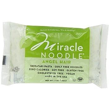 Amazon Com Miracle Noodle Angel Hair Noodles 200g Health