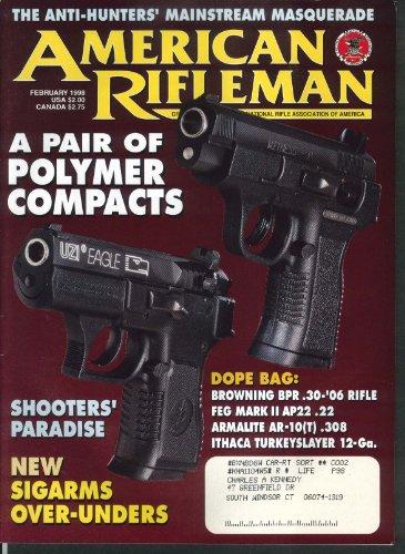 AMERICAN RIFLEMAN Uzi Eagle 260 Remington SKS Carbine Plymouth Air Rifle 2 1998
