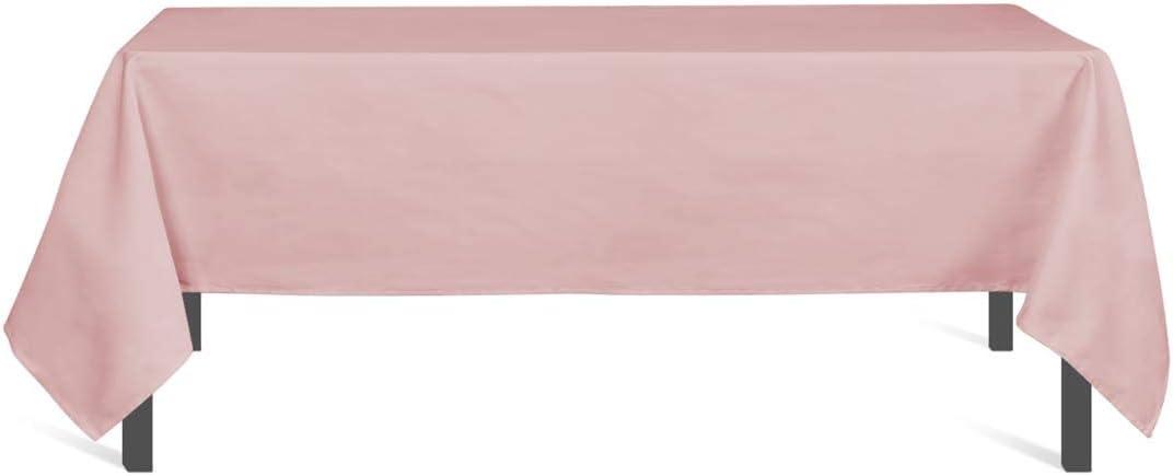 Braun 140 x 140 cm Polyester Soleil docre Alix Tischdecke
