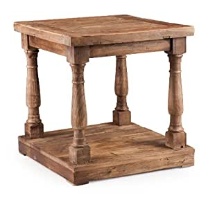 Zuo Fairfax Side Table, Distressed Oak