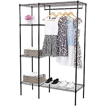Amazon Com Whitmor Freestanding Portable Closet Organizer