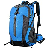 Lixada 50L Water Resistant Hiking Travel Backpack Laptop Daypack with Rain Cover Outdoor