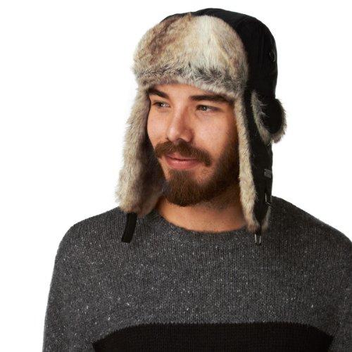 Barts Unisex Kamikaze Trapper Hat - Black