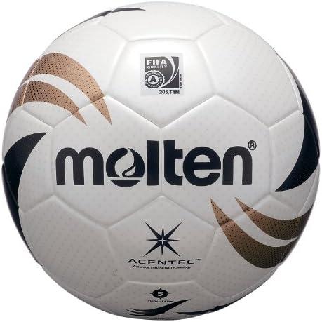 MOLTEN - Balón de fútbol (tecnología Acentec, Piel sintética ...