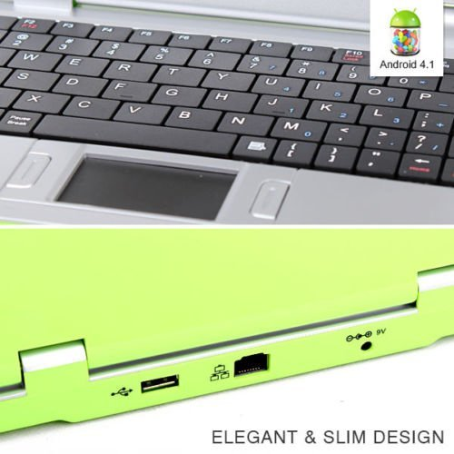 Green Kitchen App Android: Goldengulf 7-Inch Computer Laptop For Children (4.1 Jelly