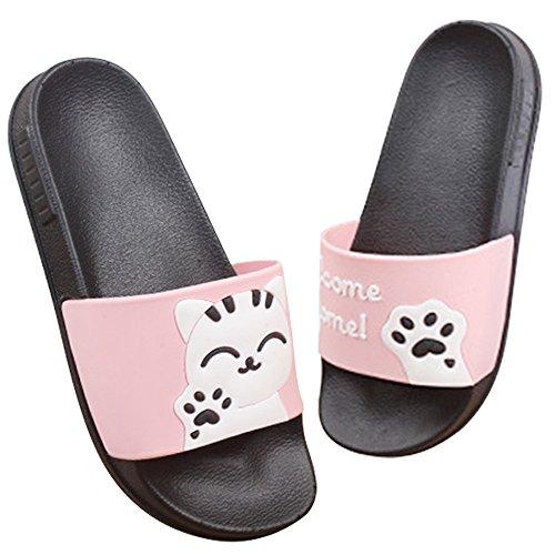 Donne Estate Scarpe Zoccoli Ciabatte Pantofole Rosa Sabot Slippers Sandali Cartoon Uomini E Spiaggia 4UOqZ4rwg