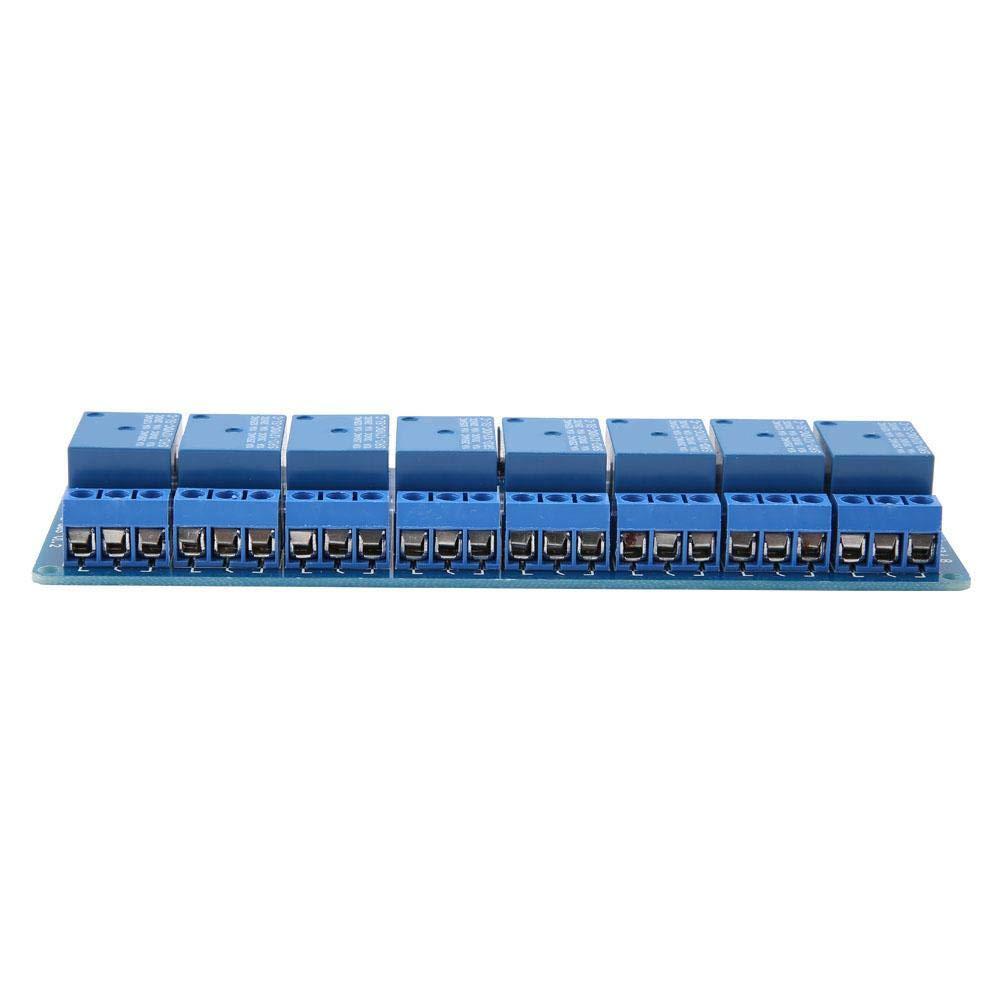 8-Kanal-Relaismodul Low-Level-Trigger-Relay-Modul mit Optokoppler 12V