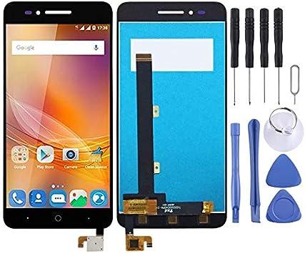 YANCAI Repuestos para Smartphone Pantalla LCD y ensamblaje Completo del digitalizador para ZTE Blade A610 A610C (Negro) Flex Cable (Color : Black): Amazon.es: Electrónica