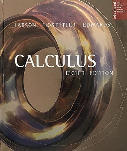 Calculus larson 8th edition ebook array larson calculus advanced placement eighth edition ron larson rh amazon com fandeluxe Choice Image