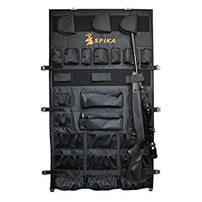 SPIKA Large Pistols Handguns Rifle Gun Safe Door Panel Organizer (28W48H)