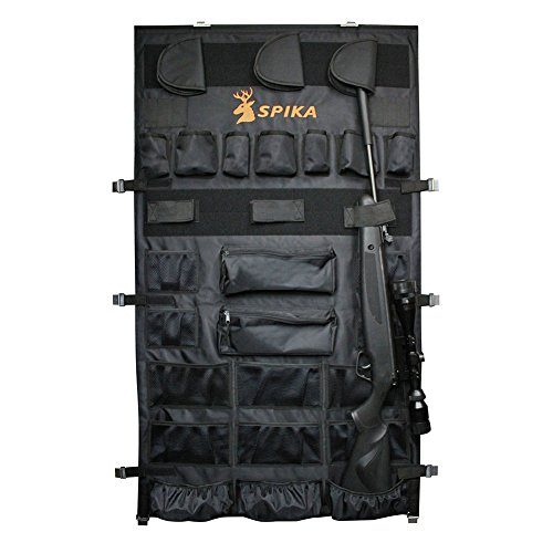 SPIKA Large Pistols Handguns Rifle Gun Safe Door Panel Organizer (28W48H) by SPIKA
