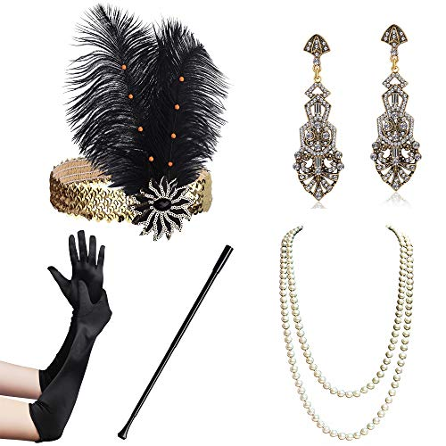 BABEYOND 1920s Flapper Accessori...