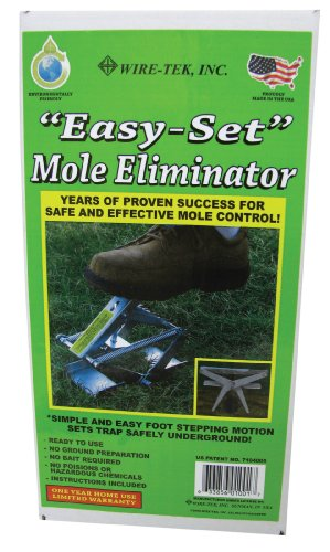 Wire Tek 1001 EasySet Mole Eliminator Trap
