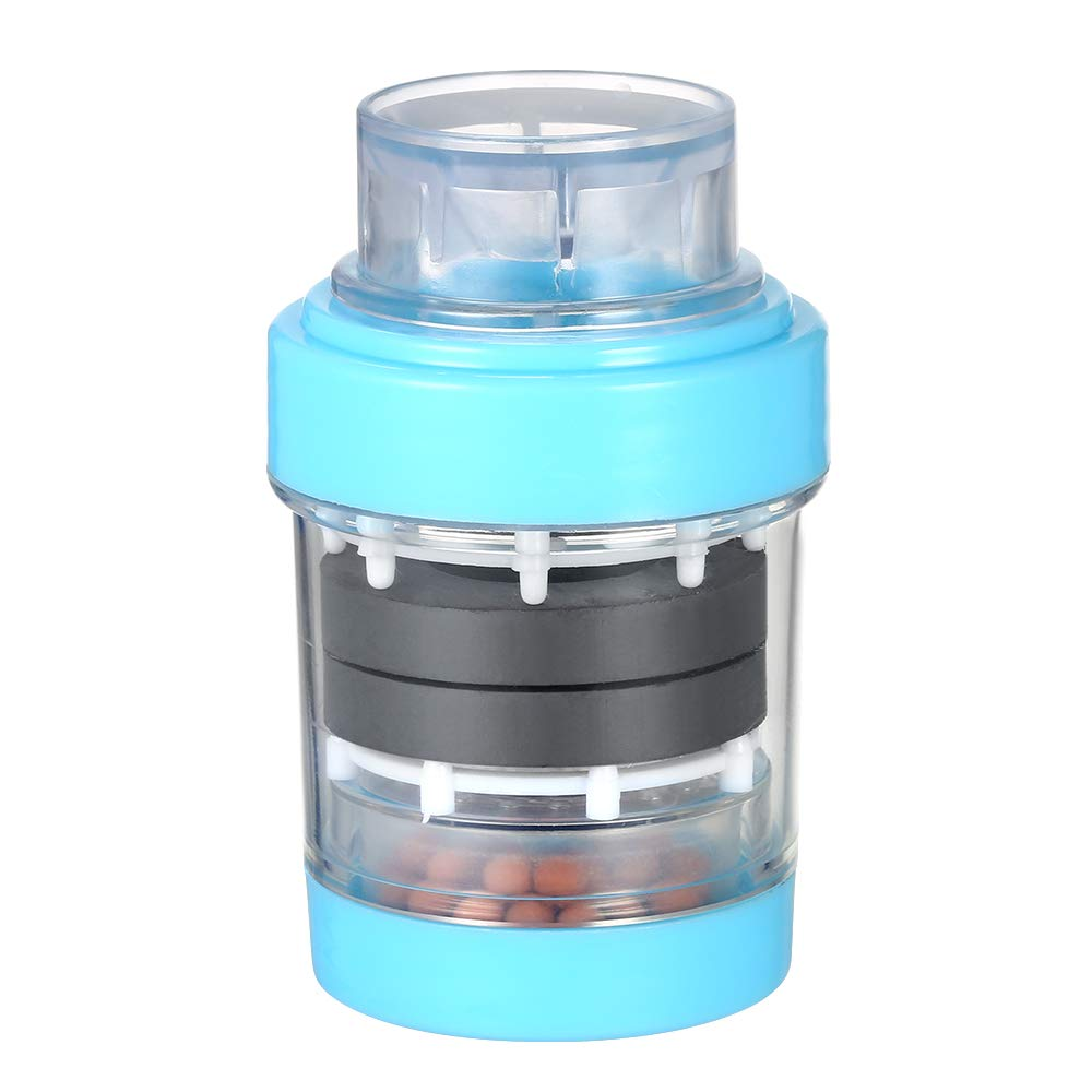 Festnight Water Filter Faucet Mineral Filter Cartridge Healthy Medical Stone Magnetized Household Faucet Tap Water Purifier Shower Home Kitchen Faucet Tap Water Clean Purifier Filter Cartridge