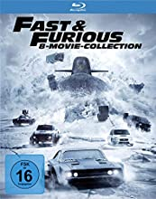 Fast & Furious - 8-Movie Collection [Alemania] [Blu-ray]