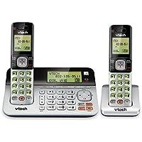 Handset Phones, Vtech Cs6859-2 Expandable Landline Phone Cordless Handset, 2pc