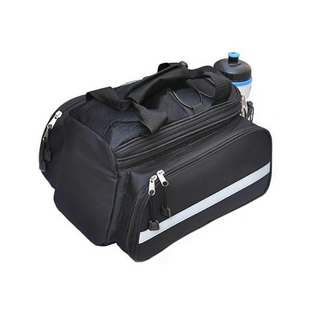 Zexo Sacoche De V/élo Pack De V/élo Portable Multifonctionnel /Étanche Ext/érieur Sacoche De Transport De Bagages Paquet De Sacoches Sac De Coffre Arri/ère avec Couvercle Anti-Pluie