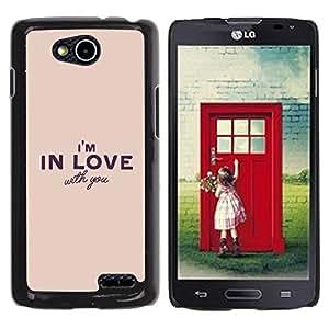Be Good Phone Accessory // Dura Cáscara cubierta Protectora Caso Carcasa Funda de Protección para LG OPTIMUS L90 / D415 // Girlfriend Boyfriend Valentines Heart