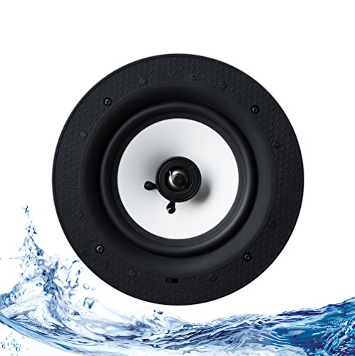 Bluetooth Ceiling Speaker IP44 Rated - Single Active / Master - Lithe Audio by Lithe Audio