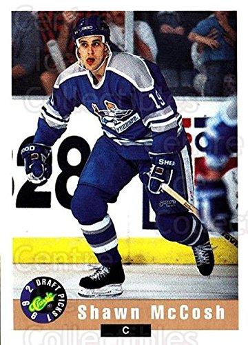 (CI) Shawn McCosh Hockey Card 1992 Classic Hockey Draft (base) 111 Shawn McCosh (1992 Classic Draft)