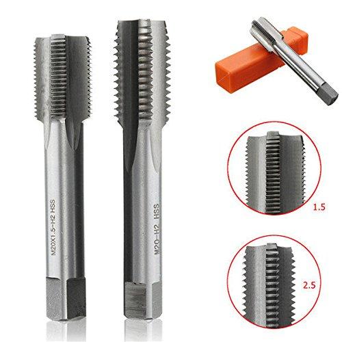 M20 x 1.5mm/2.5mm Metric Tap Plug Tap Machine Screw Threaded - M20 Keyboard