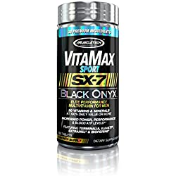MuscleTech US MT SX-7 Black Onyx Vitamax Sport for Men, 120 Count