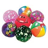 Mega Beach Ball Assortment - 50 pieces