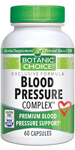 Botanic Choice Blood Pressure Complex, 60 Capsules (Blood Pressure Complex)