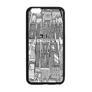Beautifulcase Custom Sketching Blink 182 cell phone case cover Laser Technology for iPhone 6 Plus Designed by HnW Accessories teQ9X1ewb4H