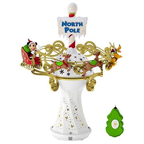 Disney Christmas Tree (Hallmark Keepsake 2017 Disney Mickey Mouse Oh, What Fun! Tree Topper With Light and Music)