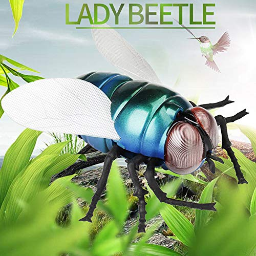 Flurries Infrared Remote Control Realistic Fake Fly RC Prank Toy Insects Joke Scary Trick for Party Or Festival (A) ()