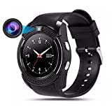 32 gb micro sd card iphone 5s - Teepao U8 Bluetooth Smart Watch, Pro Smartwatch with Camera Fitness Tracker SD Card SIM Card Intelligent Bracelet Walking Distance Sleep Monitor for Android/Huawei/iPhone,Men/Women (White)