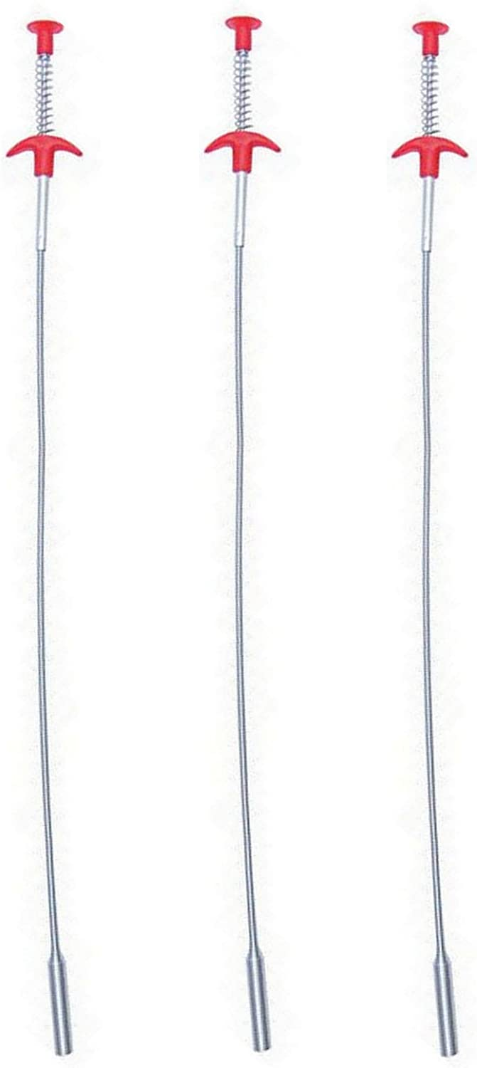 """3 pack X-Long 36"""" Flex-Cable Pick-Up Tool 4-Finger Claw End Retriever Snake"""