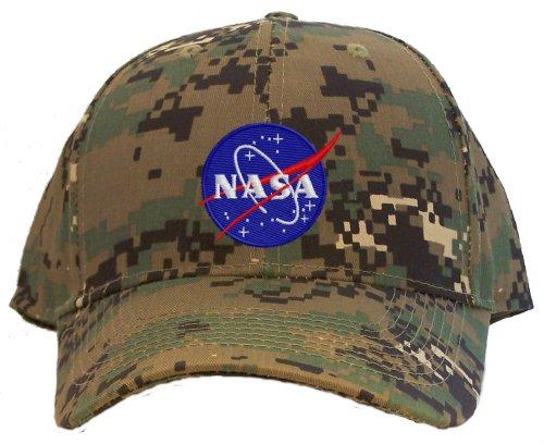 Nasa - Meatball Insignia Embroidered Baseball Cap - Camo