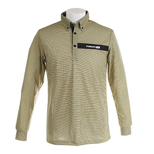 ブリヂストン TOUR B 長袖シャツ?ポロシャツ 長袖ボタンダウンポロシャツ IGM10F