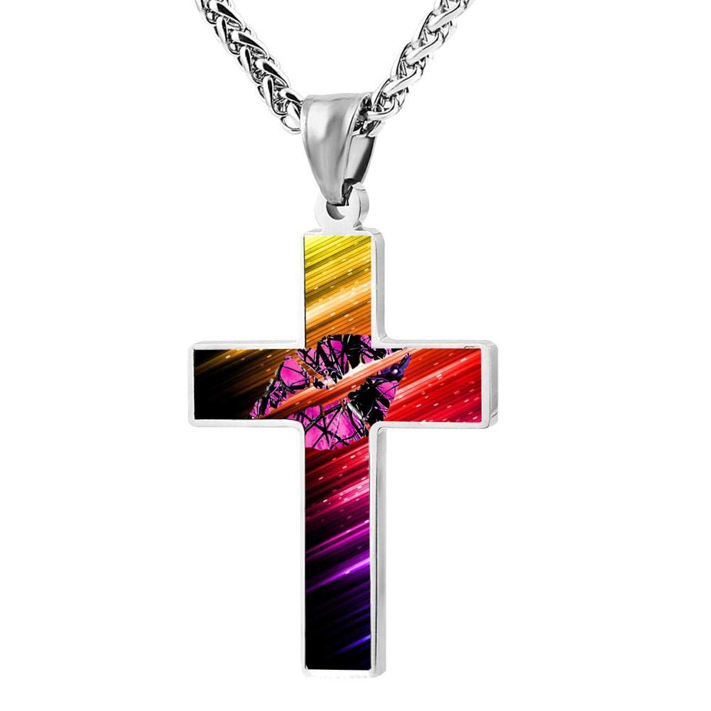 Cross Chain Necklace YTdz necklaces Cross Pendant Necklace For Men Boys Jewelry