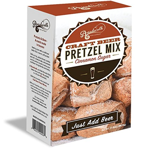 Cinnamon Sugar Craft Beer Pretzel Mix - Cinnamon Sugar Mix