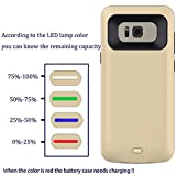 Galaxy S8 Battery Case, Caka Portable Charger