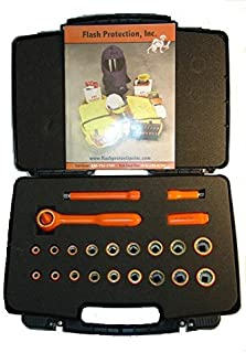 product image for 38DRKSK22 (3/8 Drive 22 Piece Socket Set) 1000v